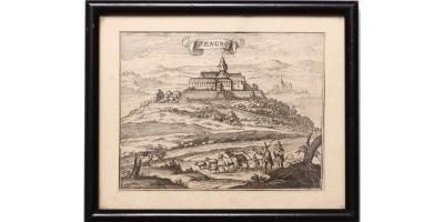 Zalaszentgrót látképe 1686