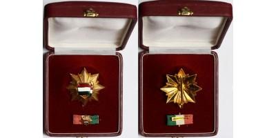 Magyar Népköztársaság Zászlórendje, dobozában