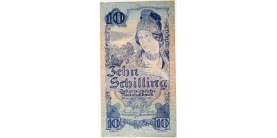 Ausztria 10 schilling 1933
