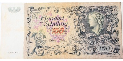 Ausztria 100 schilling 1949 R!