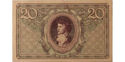 Lengyelország 20 marek 1919