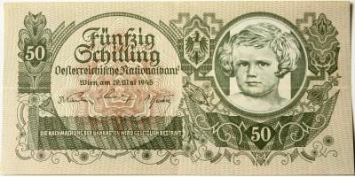 Ausztria 50 schilling 1945 R!