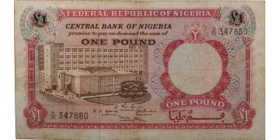 Nigéria 1 font 1967
