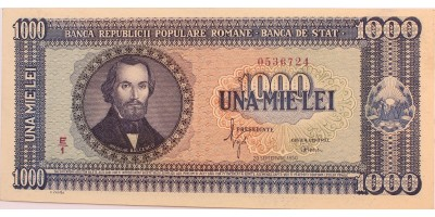 Románia 1000 lei 1950