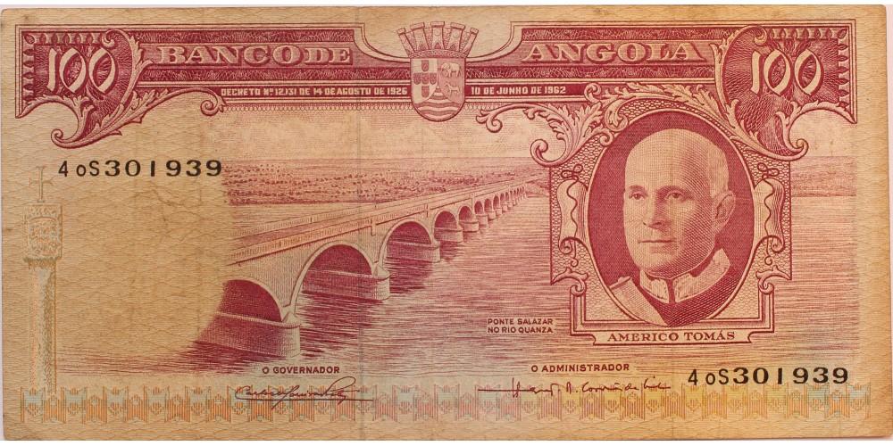Angola 100 escudo 1962