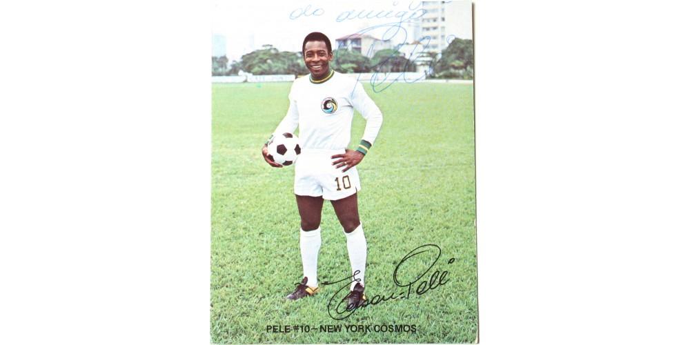 Pelé brazil labdarúgó aláírása
