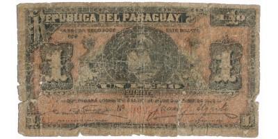 Paraguay 1 peso 1907