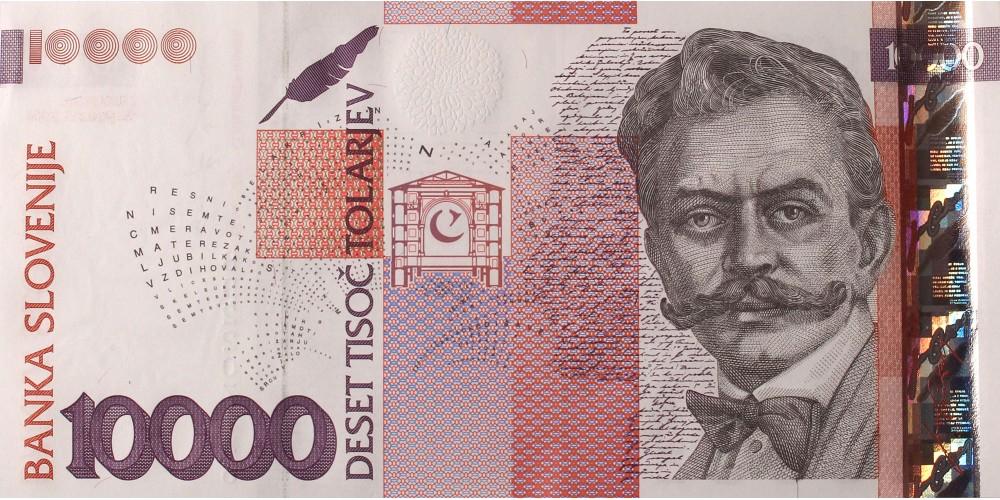 Szlovénia 10000 tolar 2004 R!