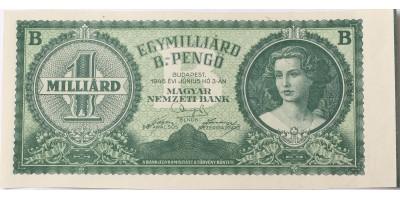 1 milliárd B-pengo 1946