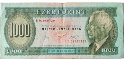 1000 forint 1983 B március R!