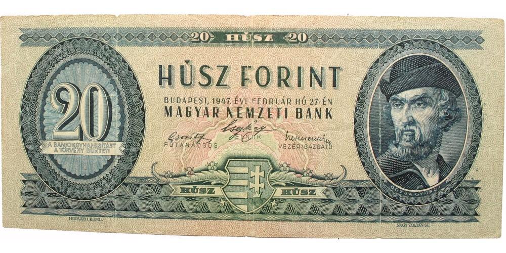 20 forint 1947