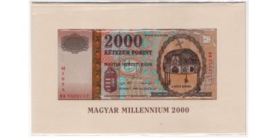 2000 Forint 2000 Milleniumi Minta