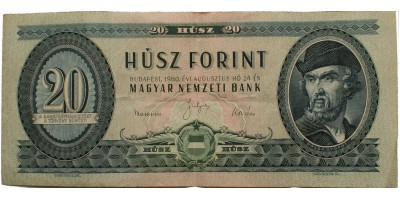 20 forint 1960 R!