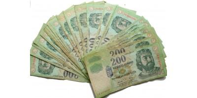30db vegyes 200 forint