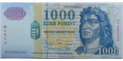 1000 Forint 1998 DA Minta