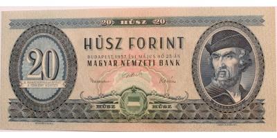 20 forint 1957