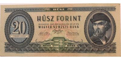 20 forint 1947 R!
