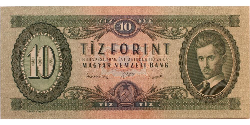 10 forint 1949