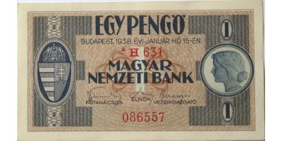 1 pengő 1938 csillagos