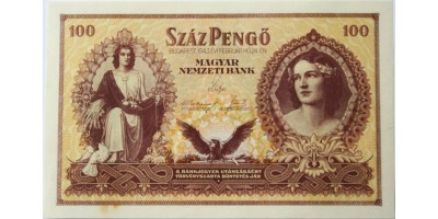 Szálasi 100 pengő 1943