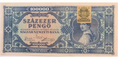 Százezer pengő 1946 RR!