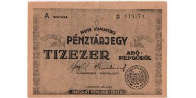 10 000 Adópengő 1946