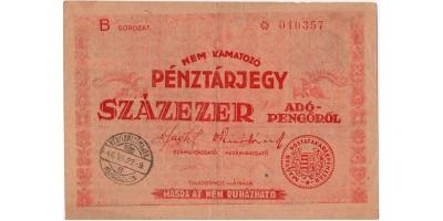100 000 Adópengő 1946