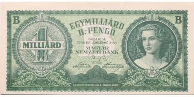 Egymillió B-pengő 1946