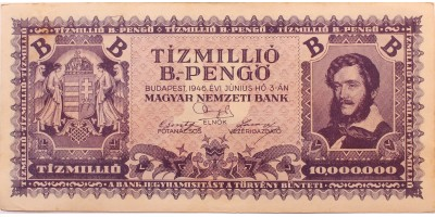 tízmillió B.-pengő 1946