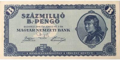 100 millió B-pengő 1946
