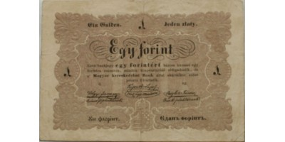 1 forint 1848