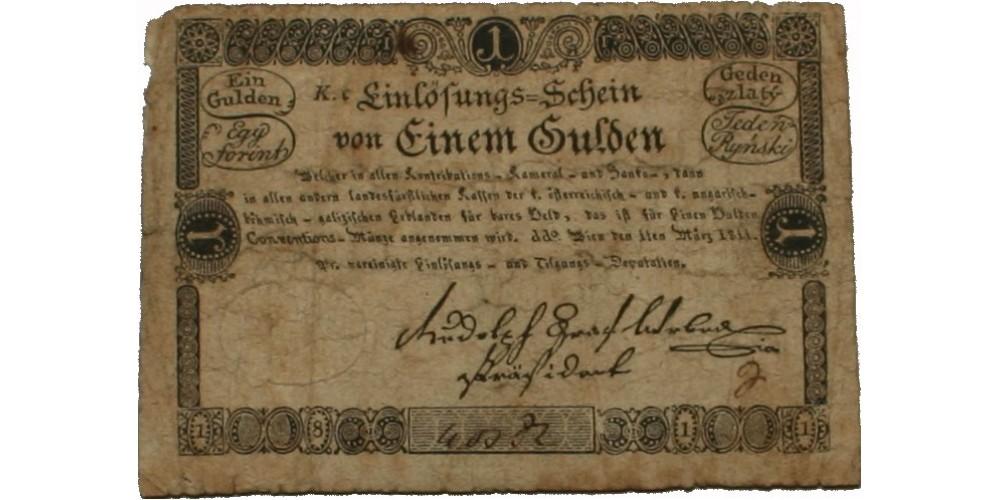 1 gulden 1811 R!