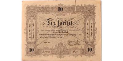 10 forint 1848 érvénytelenítve