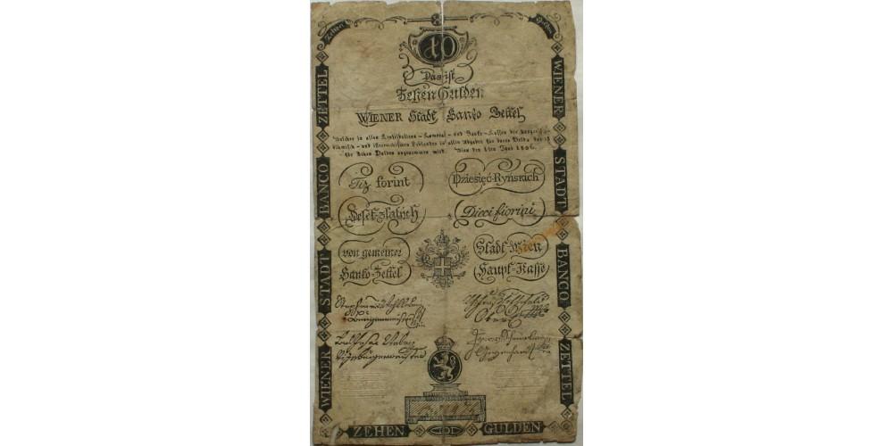 10 gulden 1806 R!