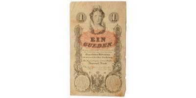 1 gulden 1858
