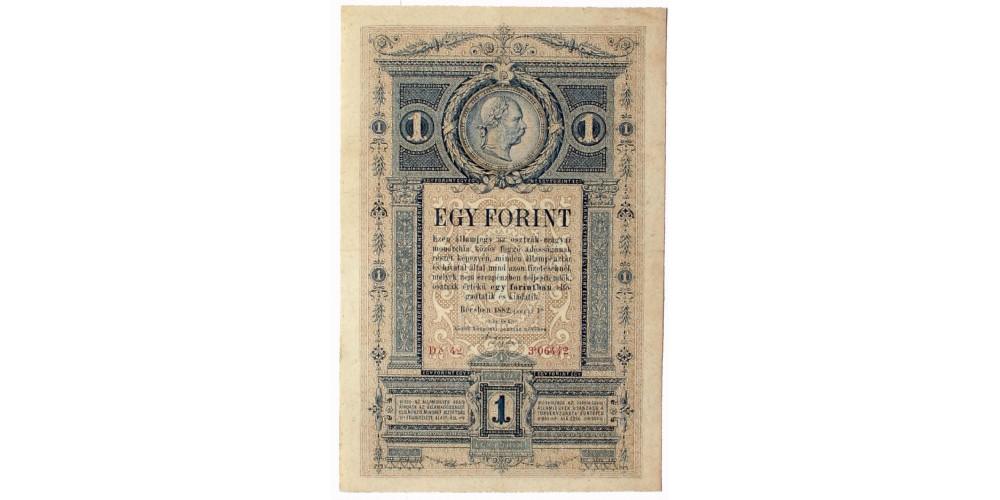 1 forint 1882