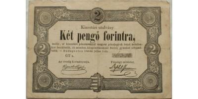 2 forint 1849