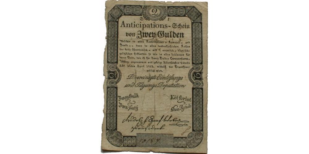 2 gulden 1813 R!