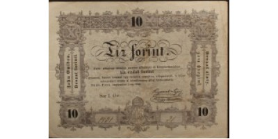 10 forint 1848