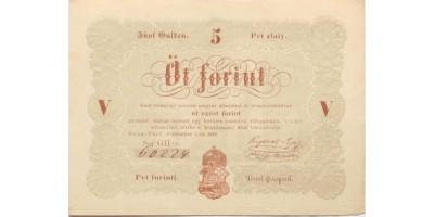 5 forint 1848 barna