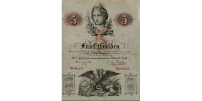 5 gulden 1859 R!