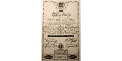 50 gulden 1806 RR!