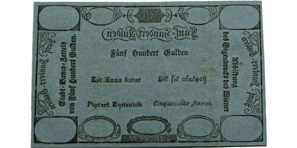 500 gulden 1806 formulare