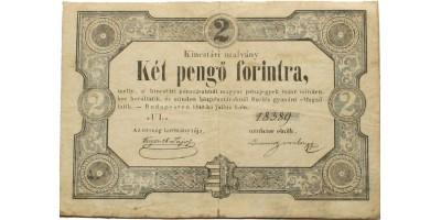 Szemere 2 forint 1849 RRR!