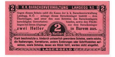 Landegg hadifogolytábor 2 Heller