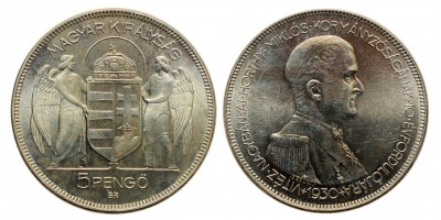 5 Pengő 1930 Artex