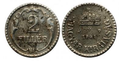 2 Fillér 1941 RR!
