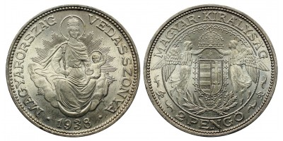 2 Pengő 1938