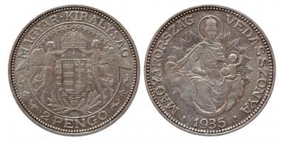 2 Pengő 1935 BP R!