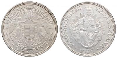 2 Pengő 1936